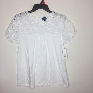Northcrest Small White Shirt